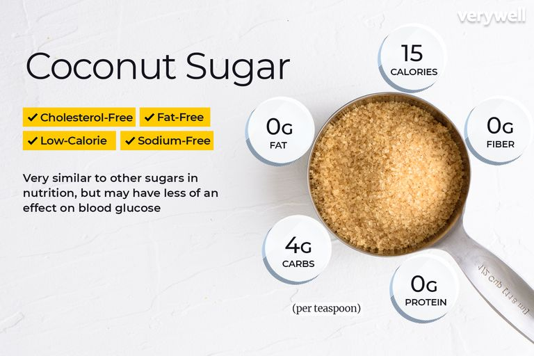 Coconut sugar annotated
