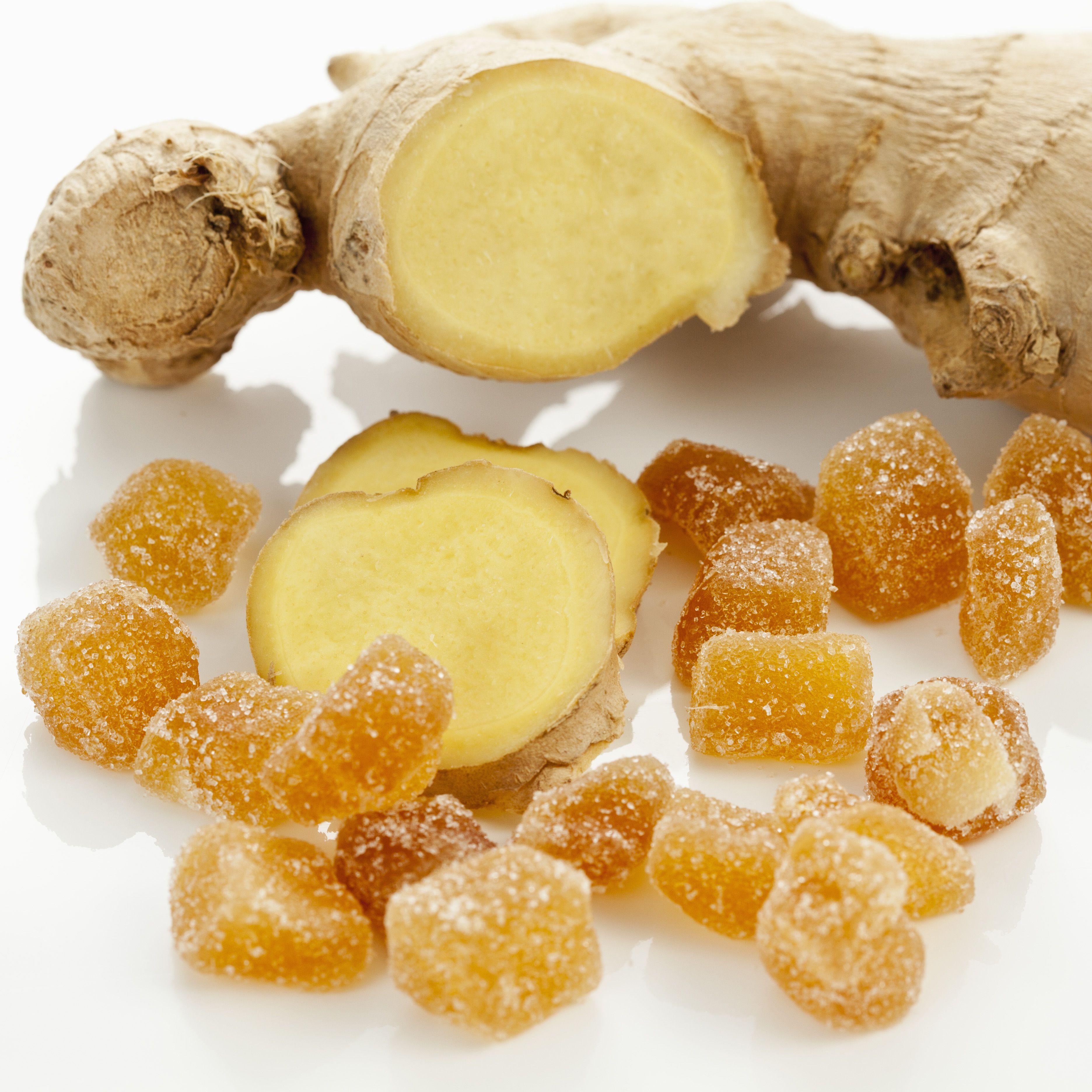 Easy Crystallized Ginger Recipe