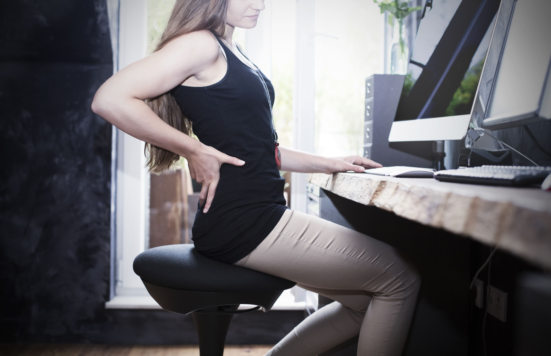 Good posture makes you more comfortable