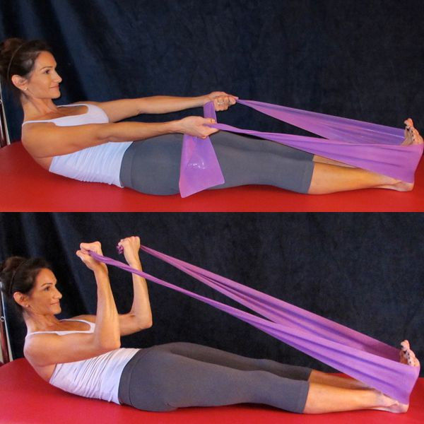 Resistance Band Exercises For An Upper Body Workout