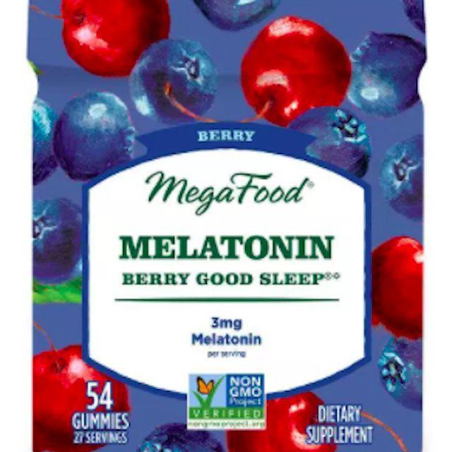 MegaFood Melatonin Berry Good Sleep