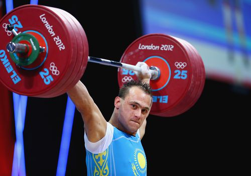Ilya Ilyin Olympic weightlifting