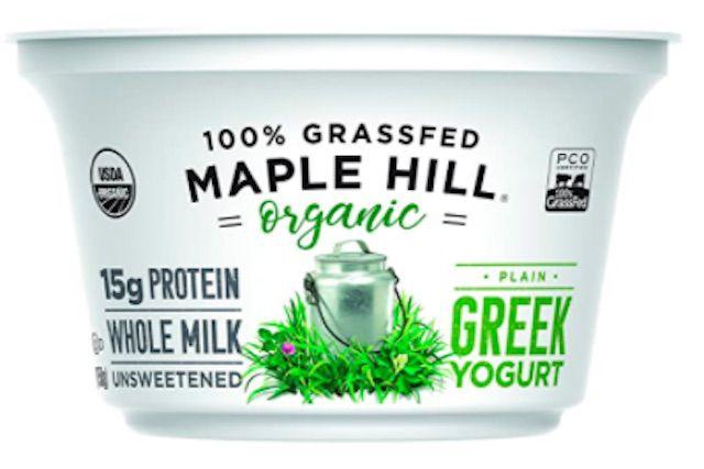 Yogur griego orgánico Maple Hill