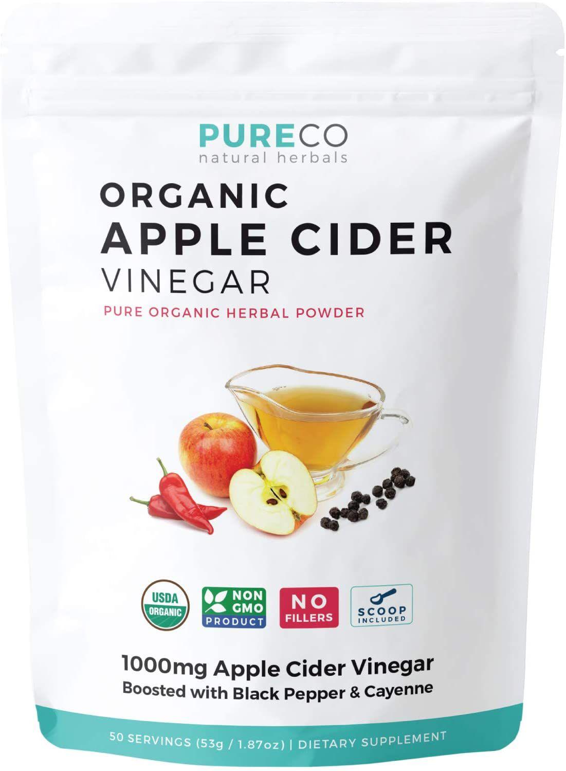Pure Co. Organic Apple Cider VInegar Powder