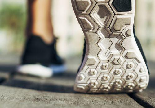 Shoe Flexing in Forefoot