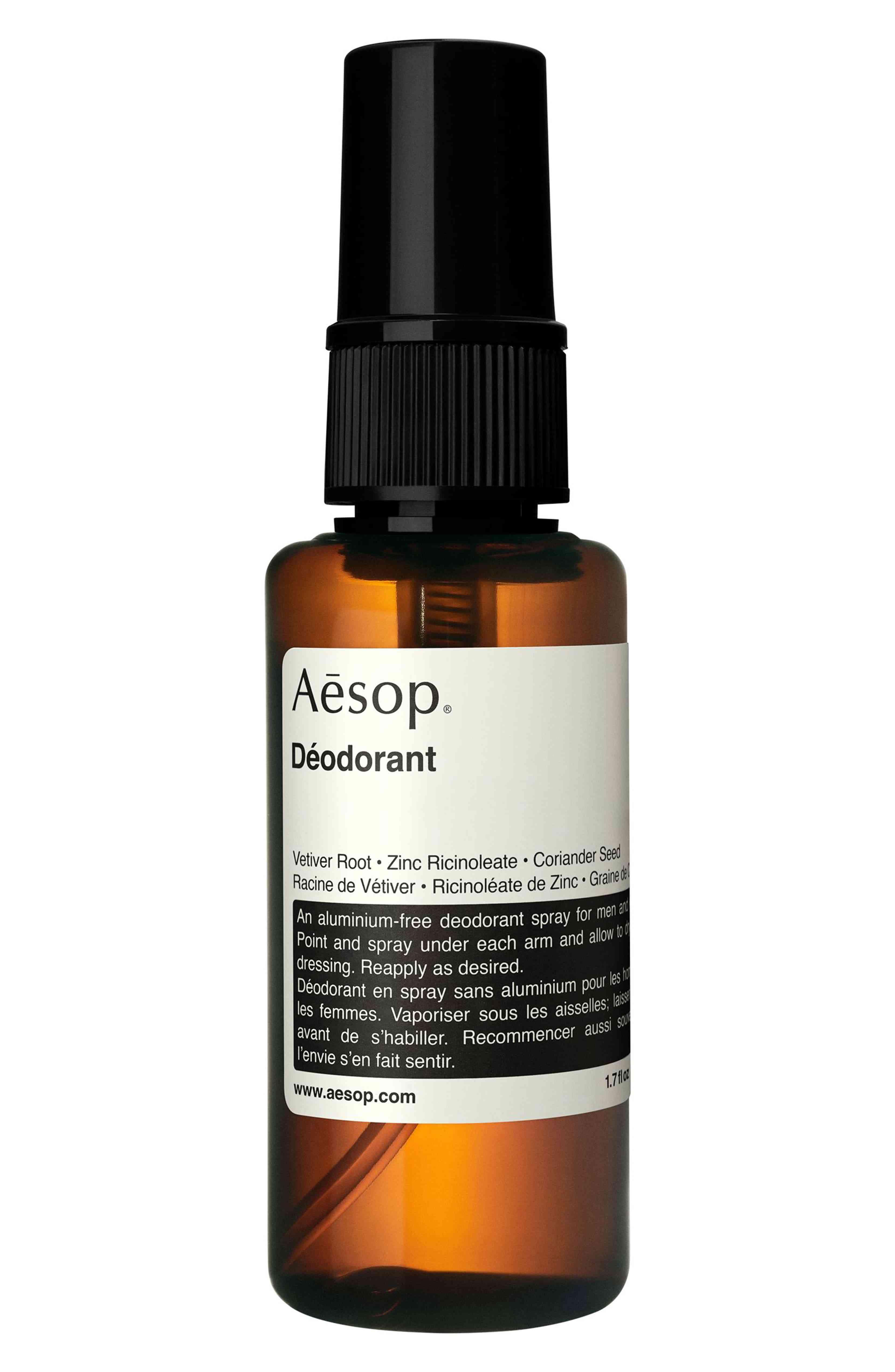 aesop deodorant spray