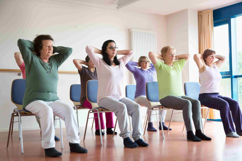 10 Chair Exercises for Seniors