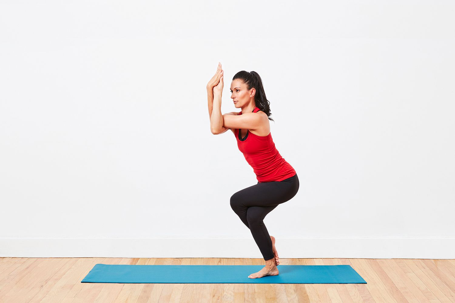 Eagle Pose Pilates