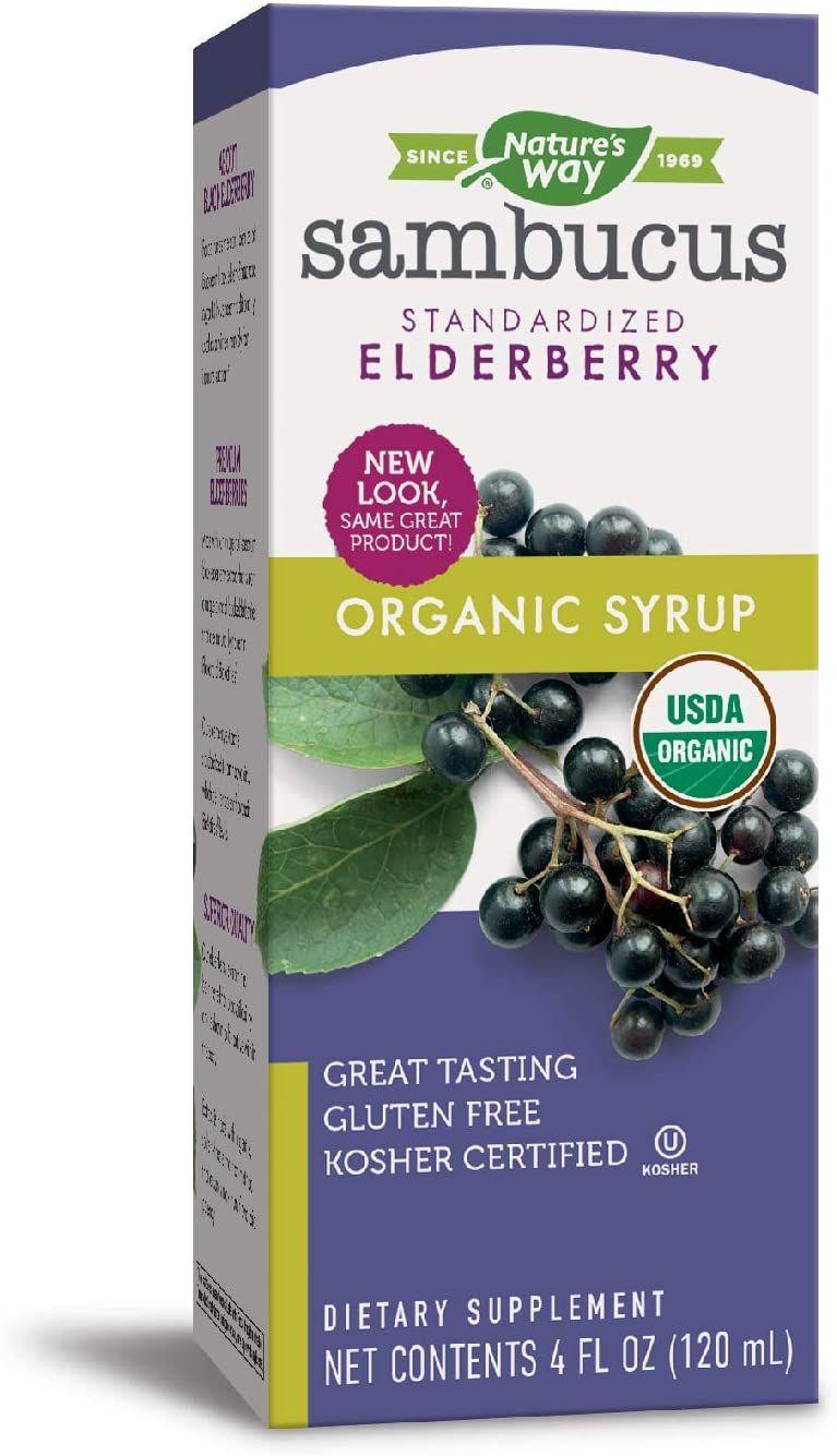 Nature's Way Sambucus Standardized Elderberry Syrup