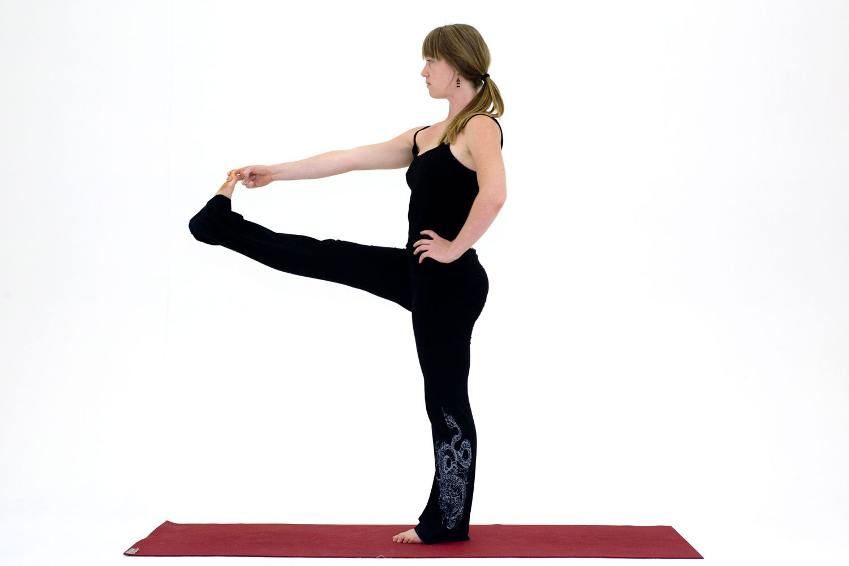 Yoga Poses for Hamstrings: Utthita Hasta Padangustasana