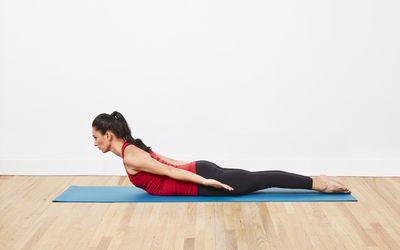 how to do catcow stretch chakravakasana