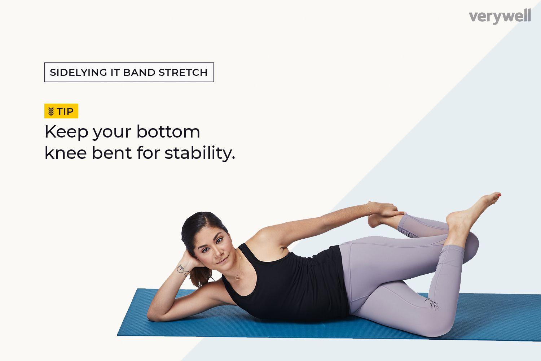 Sidelying IT band stretch