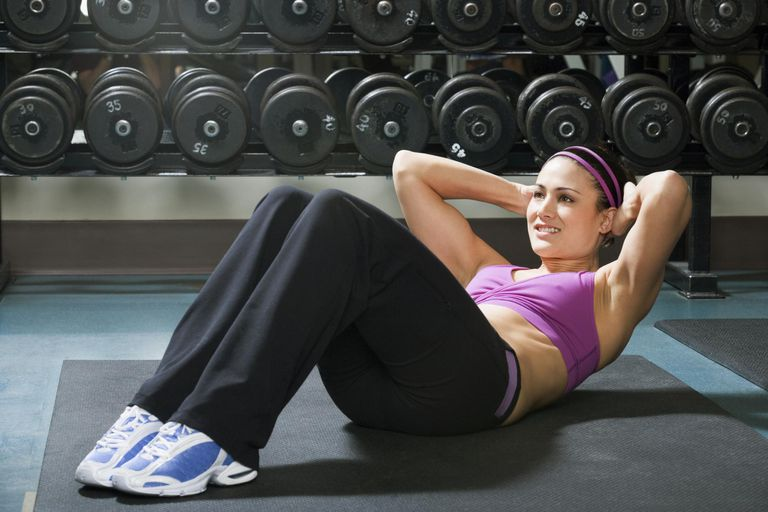 How to do the perfect abdominal crunch