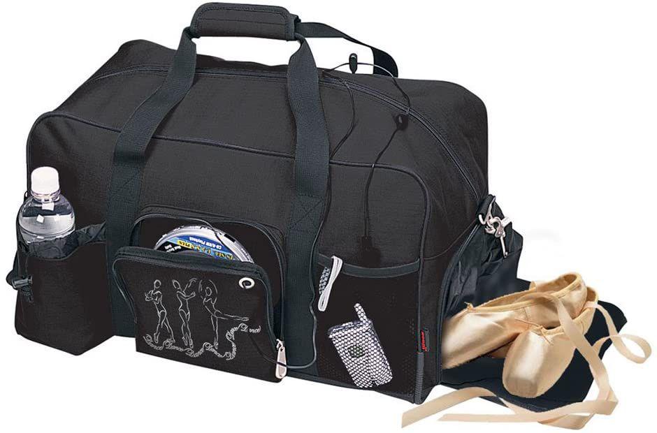 Horizon Dance 4366 Large Black Duffel Bag