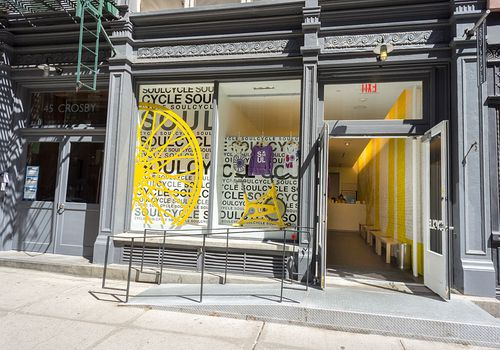 Entrance to a SoulCycle studio