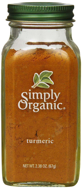 Simply organic tumeric