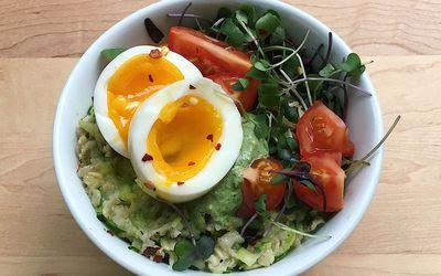 savory zucchini oats recipe