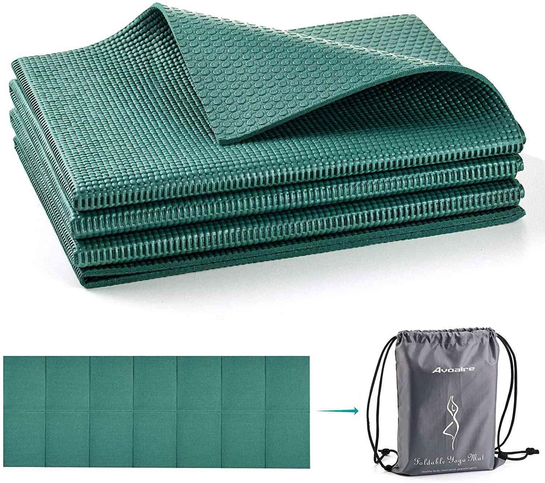 Avoalre Foldable, Anti-Tear Yoga Mat