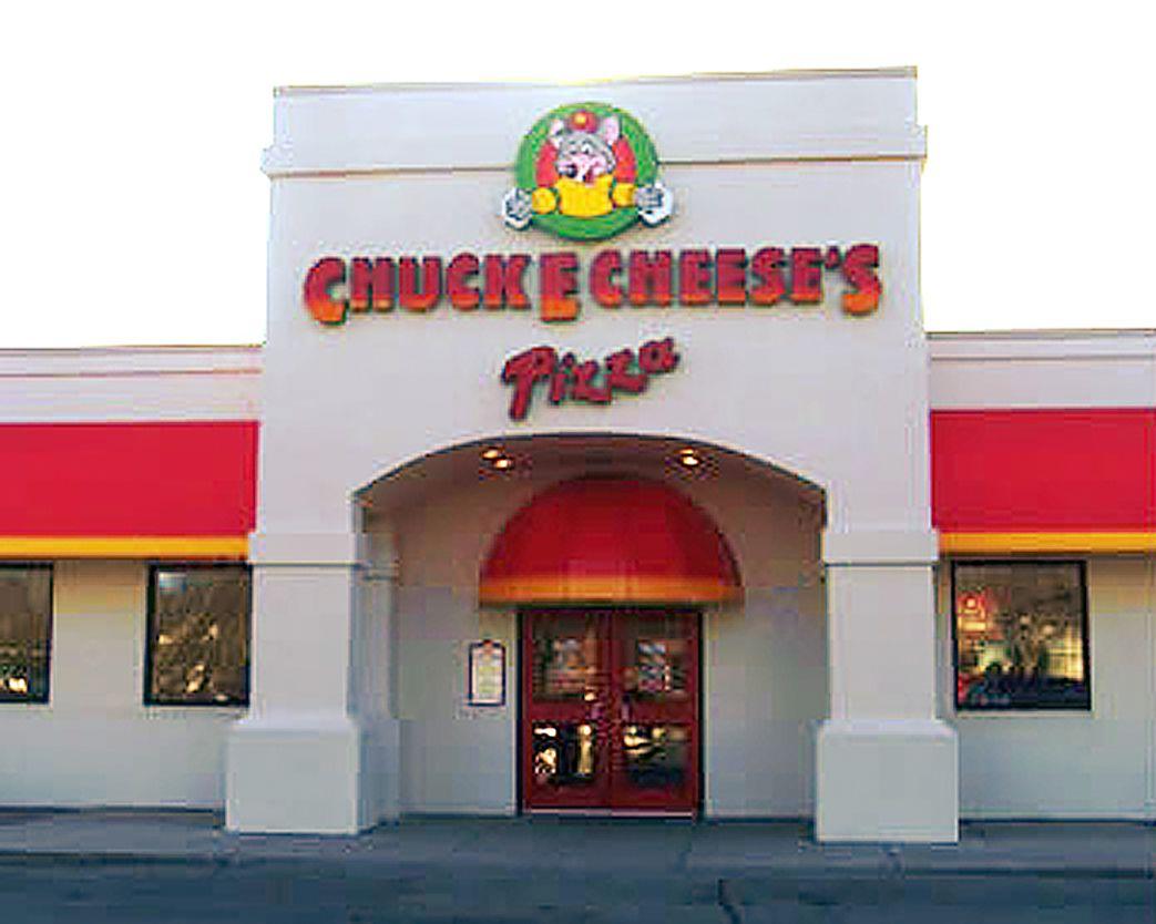 ubicación de la pizza de chuck e cheese
