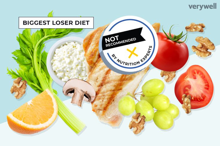 what are the risks biggest loser diet