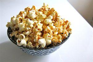 Miso Peanut Butter Popcorn