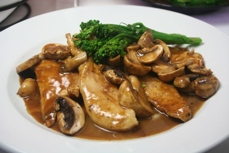 Healthier Chicken Marsala Recipe