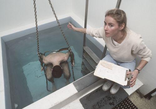 Pesaje hidrostático subacuático de grasa corporal