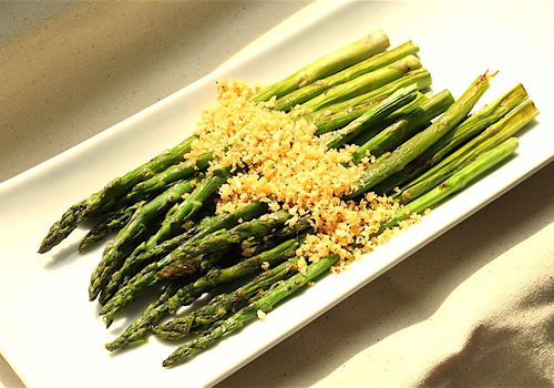 Asian Inspired Oven Roasted Asparagus Recipe