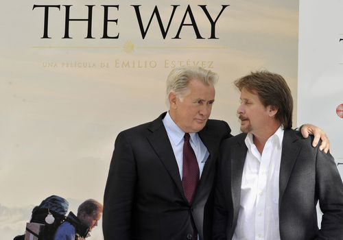 Martin Sheen y Emilio Estevez en The Way