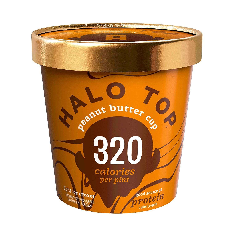 Taza de mantequilla de maní Halo Top