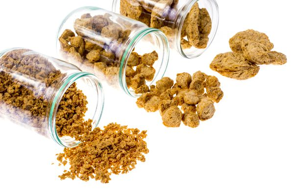 different types of textured vegetable protein