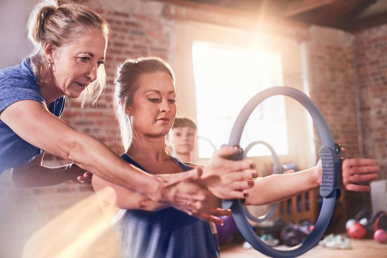 Upper Body Toning Exercises With the Pilates Ring