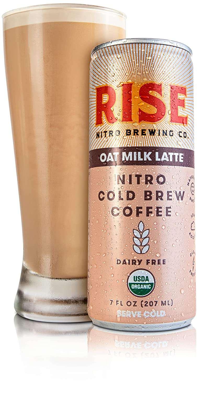 Rise Brewing Co. Oat Milk Nitro Cold Brew Latte