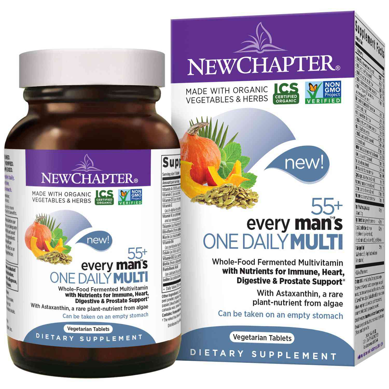 New Chapter Every Man's One Daily Multivitamin 55+