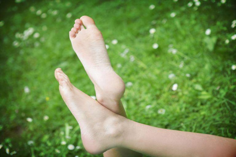 Bare Feet Relaxing