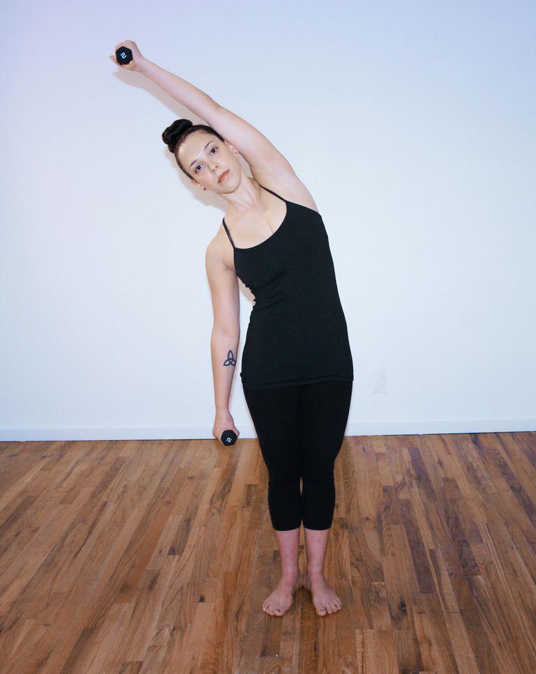 Pilates Side Stretch