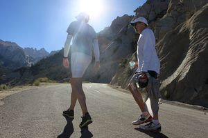 Ultra Marathoners Death Valley