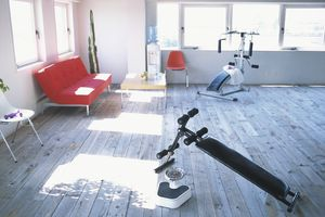 Home gym equipment for stress relief