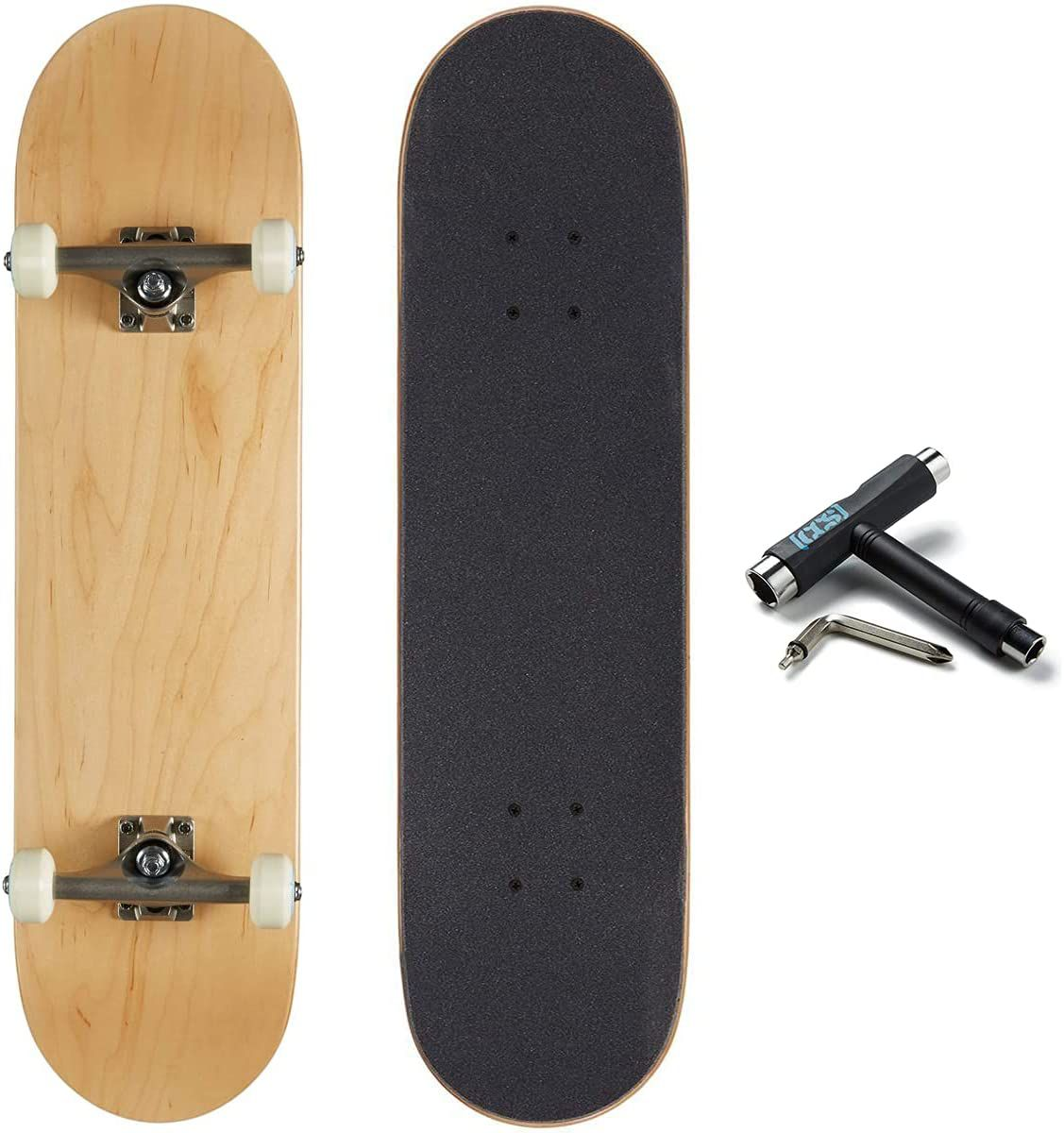 CSS Blank Skateboard Complete