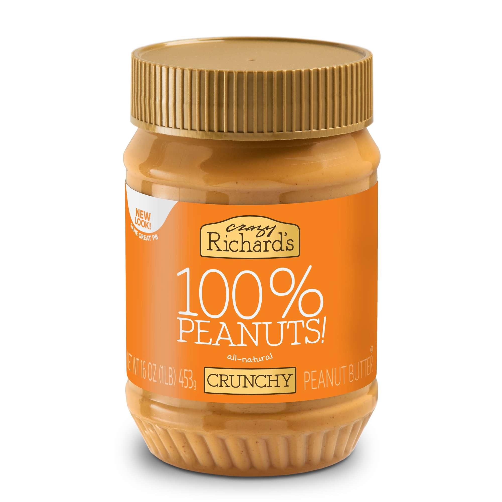 Crazy Richard's Crunchy Peanut Butter