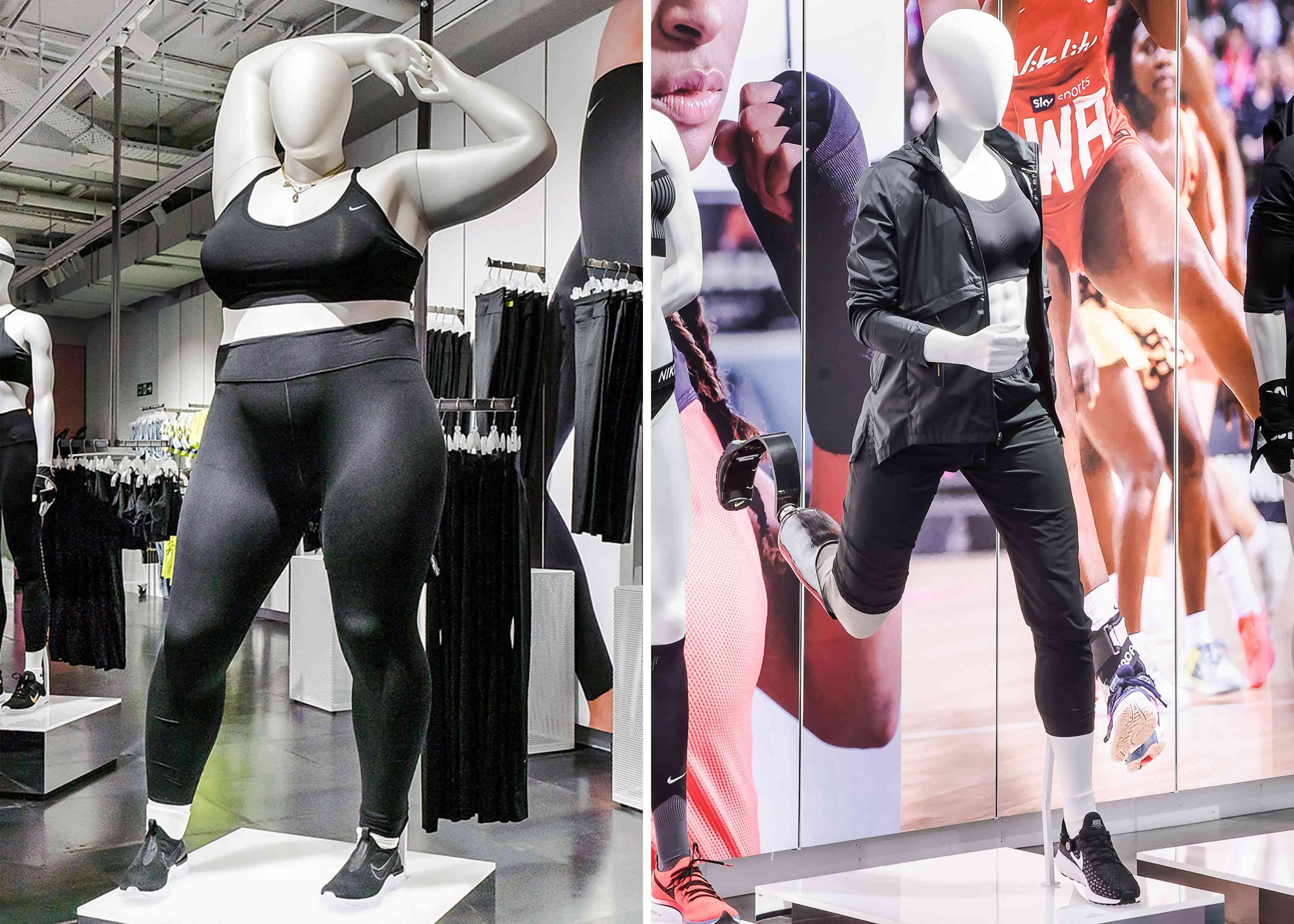 Nike talla grande y modelo para atleta