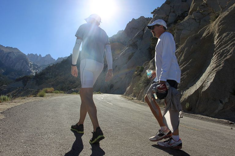 Ultra Marathoners Death Valley
