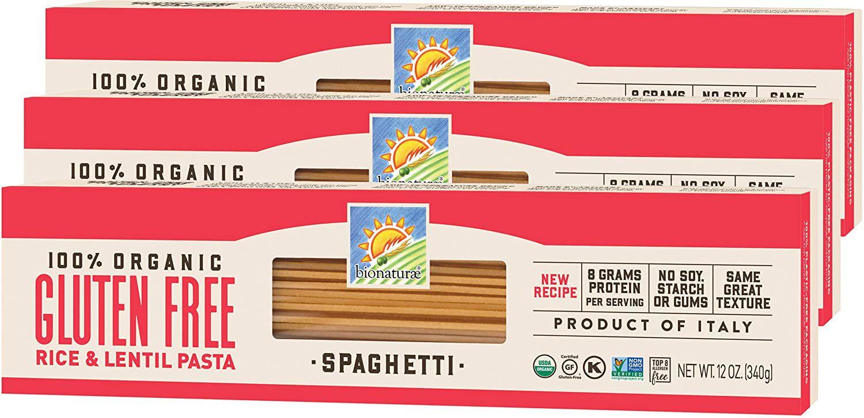 Bionaturae Rice and Lentil Spaghetti