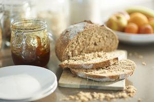 Gluten is found in wheat-based bread
