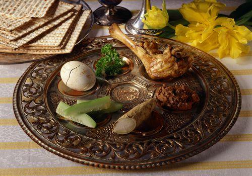 Plato Seder para Pascua