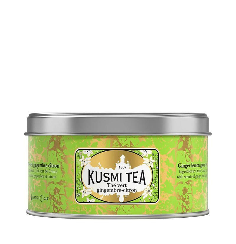 Kusmi Tea Ginger Lemon Green Tea