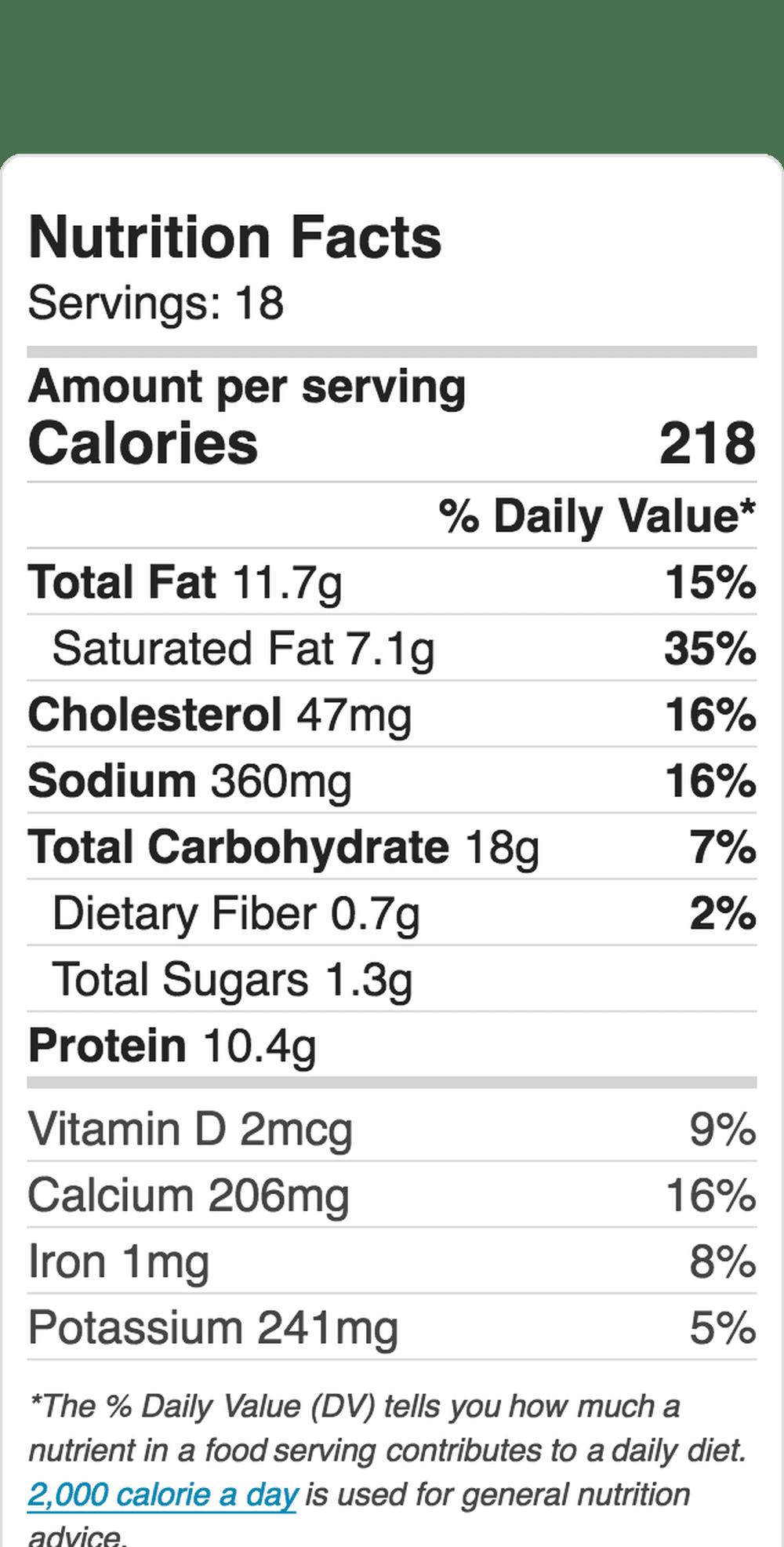 Nutrition Label Embed 1231339775 5b6323b3c9e77c0050e8af10