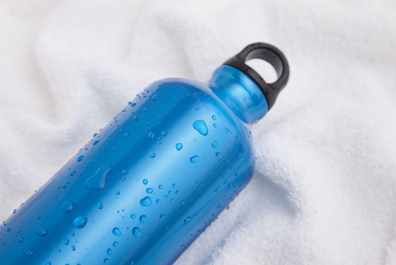 Botella de agua de aluminio