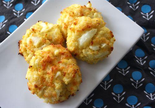 Cauliflower Cakes