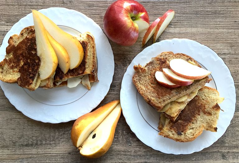 Fruit and Nut Butter French Toast